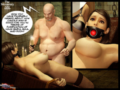 Two 3d naked babes in stay ups - BDSM Art Collection - Pic 9