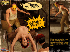 Masked 3d crazy guy and gis busty - BDSM Art Collection - Pic 4