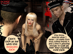 Four naked and humiliated 3d slave - BDSM Art Collection - Pic 8