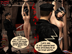 Dark haired 4d big tits naked nymph - BDSM Art Collection - Pic 8