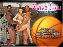 Xxx interracial 3d porn pics of petite body beauty - Picture 1