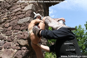 Captured viking chick gets her tight but - XXX Dessert - Picture 2