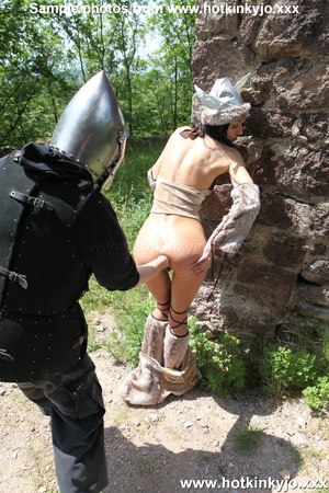 Captured viking chick gets her tight but - XXX Dessert - Picture 5