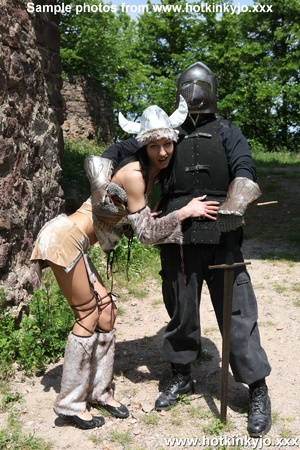 Captured viking chick gets her tight but - XXX Dessert - Picture 6