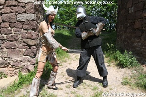 Captured viking chick gets her tight but - XXX Dessert - Picture 7
