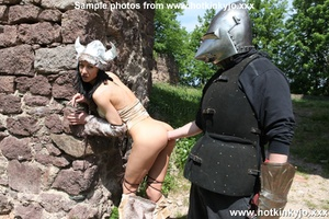 Captured viking chick gets her tight but - XXX Dessert - Picture 8