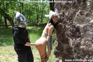 Captured viking chick gets her tight but - XXX Dessert - Picture 9