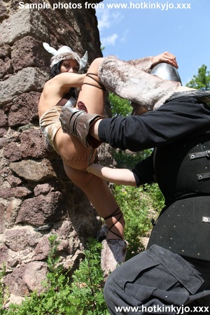 Captured viking chick gets her tight but - XXX Dessert - Picture 10