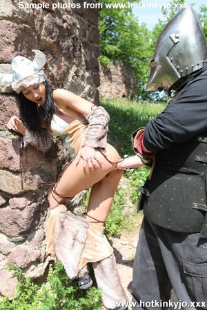 Captured viking chick gets her tight but - XXX Dessert - Picture 11