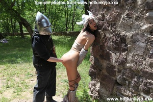 Captured viking chick gets her tight but - XXX Dessert - Picture 13