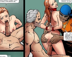 Blonde and redhead young stunners asked - BDSM Art Collection - Pic 2