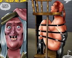 Young enslaved naked girls asked to - BDSM Art Collection - Pic 5