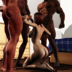 Big dick black dudes need white girl's mouthes and - Picture 1