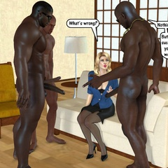 Naked 3d black horny guys feeling naughty and gonna - Picture 2