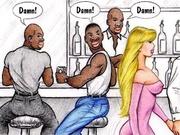 husband finds black guys