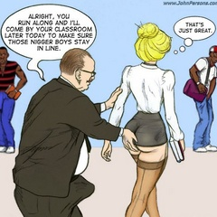 Cartoon white shemale gets her mout hand ass hole - Picture 3