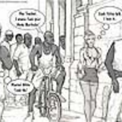 Nasty black toon guys are alaways ready to stick - Picture 2