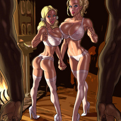 Xxx interracial cartoon porn pics of white girl wanna - Picture 4