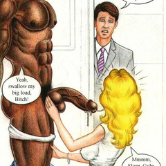 Sexy shaped toon babes let black dudes plow their - Picture 3