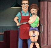 Real cartoon couple spice up their sexual life with hardcore bdsm games