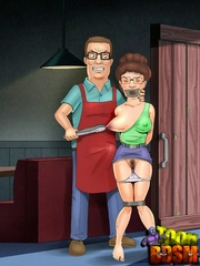 Real cartoon couple spice up their sexual life with - Picture 1