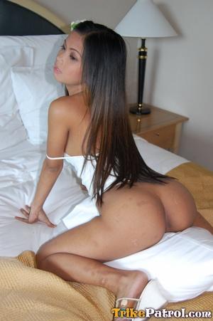 Sex lark being hammered by her vigorous pimp - XXXonXXX - Pic 17