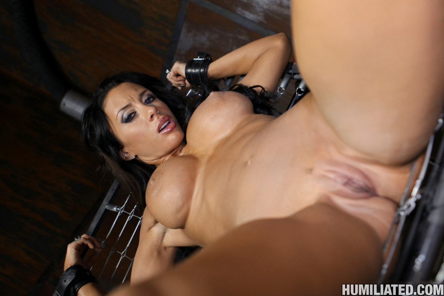 Gushing bondage whore fucked to wet gushing - XXX Dessert - Picture 2