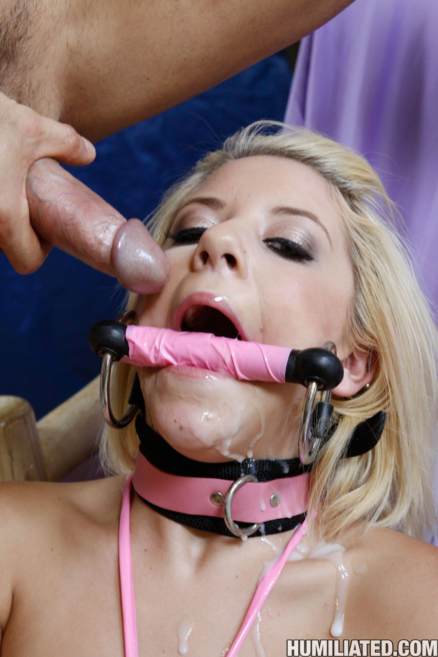 YOung Teen is tieds up and made to squirt! - XXX Dessert - Picture 16