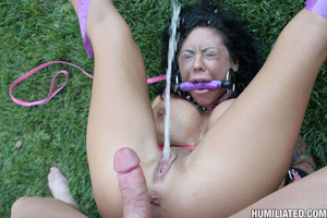 Hot slut in pool get drench with her own - XXX Dessert - Picture 15