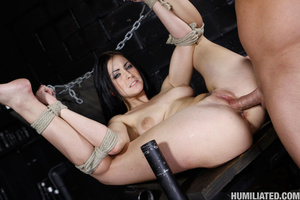 Slut in a suit case wants to be torured  - XXX Dessert - Picture 13