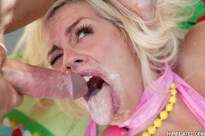 Blonde bitch can squirt massive load! - XXX Dessert - Picture 16