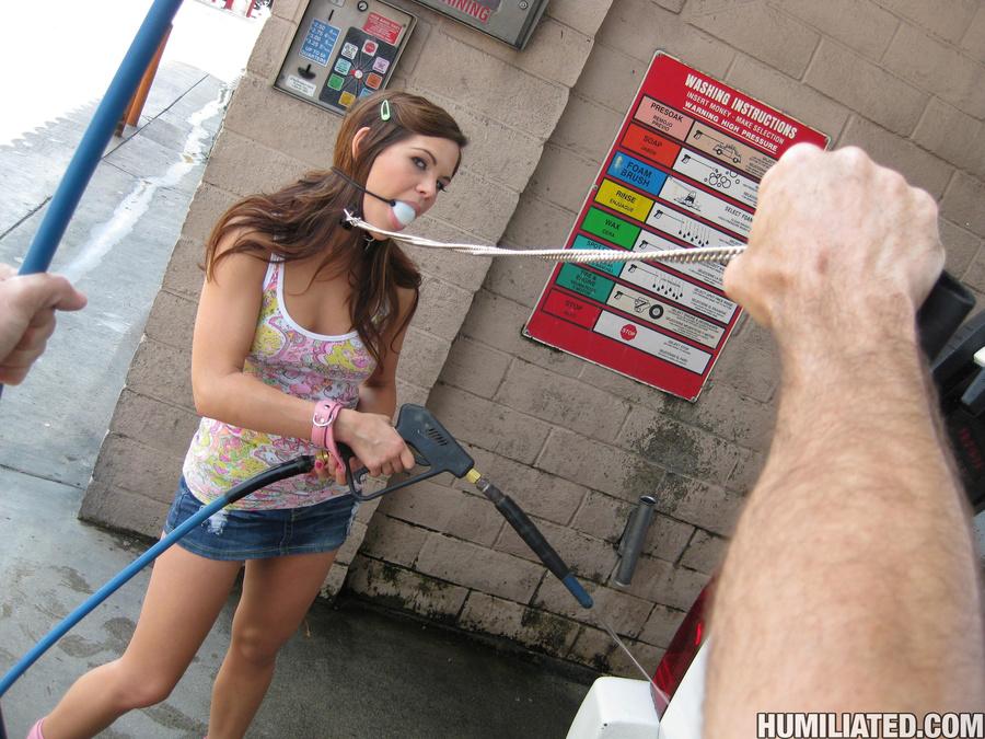 Horny bitch is soaking wet from her own cum - XXX Dessert - Picture 2