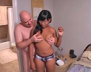 lovely ebony housewife begging