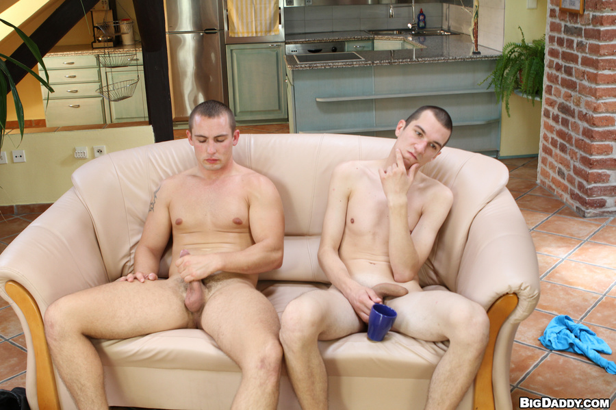 Two guys having sex naked