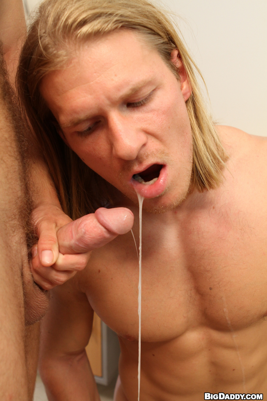 Gay cum in hair