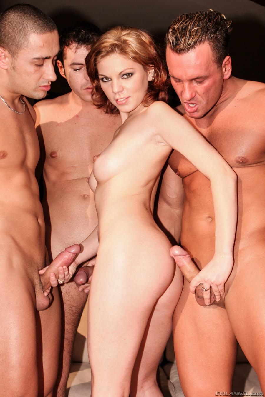 Три для одного порно