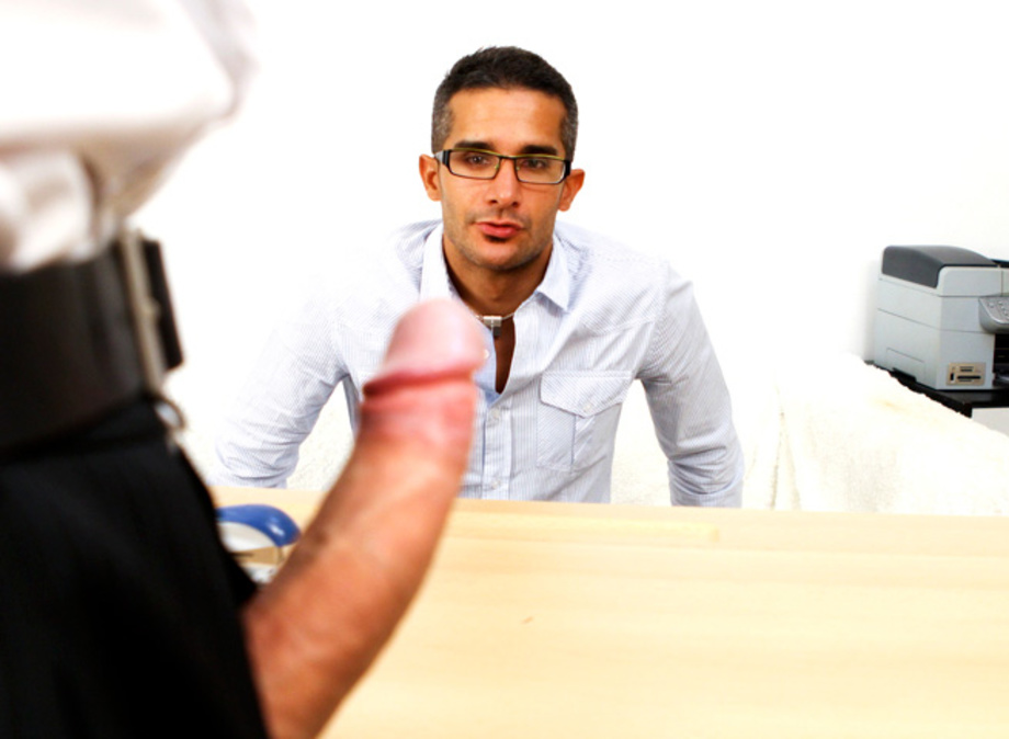 Office gay sex nerd porn hot