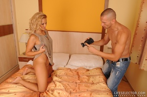 Blonde reality chick gets facialized aft - XXX Dessert - Picture 15
