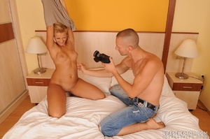 Blonde reality chick gets facialized aft - XXX Dessert - Picture 16