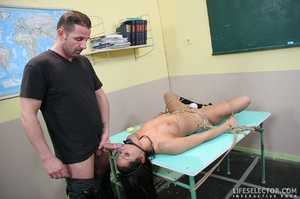 Tricky young college girl gets bondaged  - XXX Dessert - Picture 11