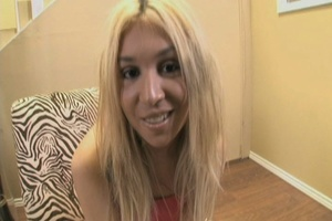 Teen blonde takes big dick into her cooc - XXX Dessert - Picture 3