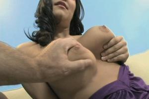 Nasty brunette gets her snatch stretched - XXX Dessert - Picture 4