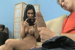 Nasty brunette gets her snatch stretched - XXX Dessert - Picture 10