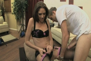 Dirty bitch with a hairy pussy gets it b - XXX Dessert - Picture 11