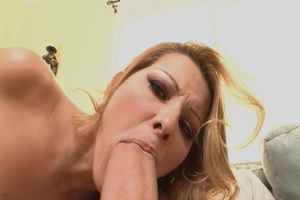 Gorgeous blonde mom jumps on thick dick  - XXX Dessert - Picture 4