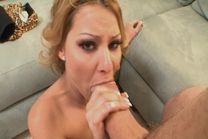Gorgeous blonde mom jumps on thick dick  - XXX Dessert - Picture 5