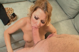 Gorgeous blonde mom jumps on thick dick  - XXX Dessert - Picture 8