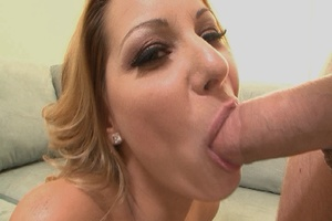 Gorgeous blonde mom jumps on thick dick  - XXX Dessert - Picture 9