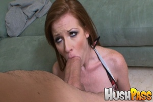 Gonger bitch takes huge pecker into her  - XXX Dessert - Picture 6