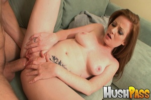 Gonger bitch takes huge pecker into her  - XXX Dessert - Picture 11